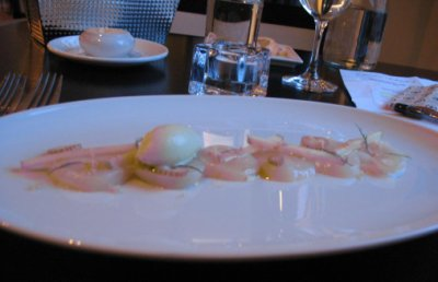 RESTAURANT NEWTOWN, MONTREAL - Princess Scallops, Green apple, Wasabi root.jpg