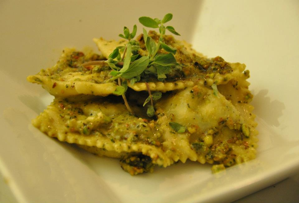 Ravioli with pistachio-marjoram pesto.jpg