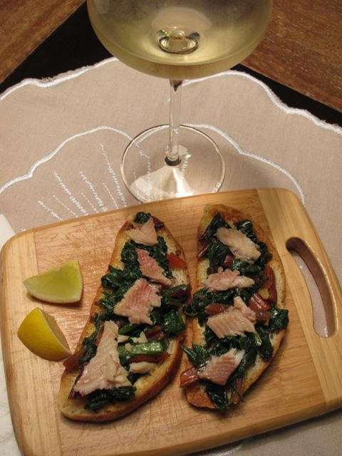 Chard bruscetta with wine.jpg