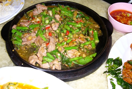 Lek Seafood - Ostrich Hot Plate..JPG