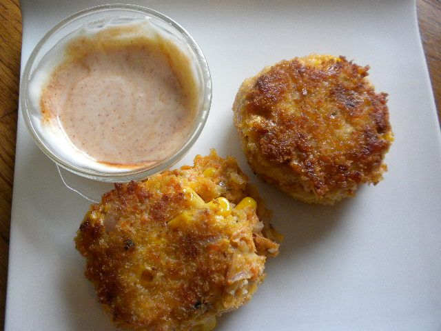 corn and salmon cakes with mayo.jpg