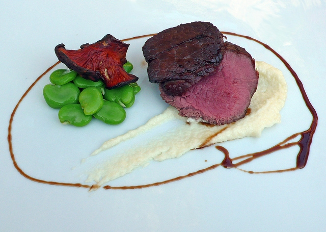 Fillet, fava, parsnip, shroom, gingersnap.JPG