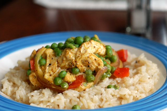Curried Chicken, Peppers, and Peas.jpg