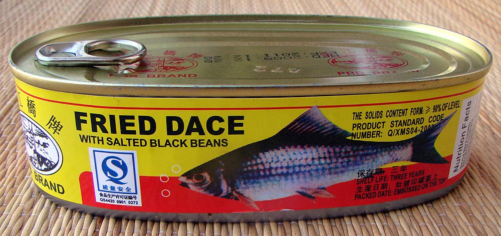 Fried Dace with Salted Black Beans – Tasty Island