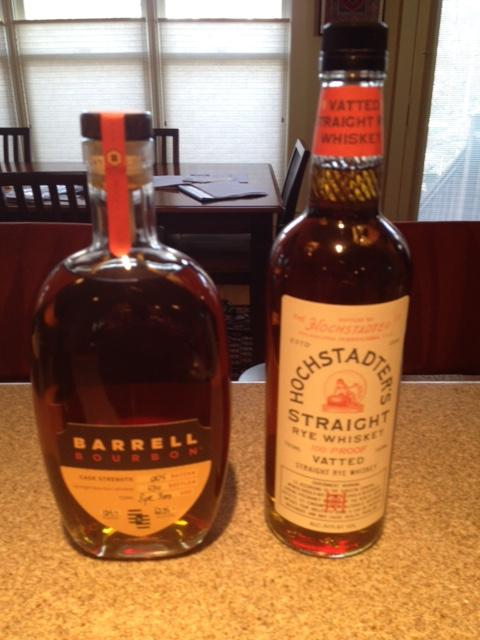 Barrel bourbon hochstadter rye.jpeg