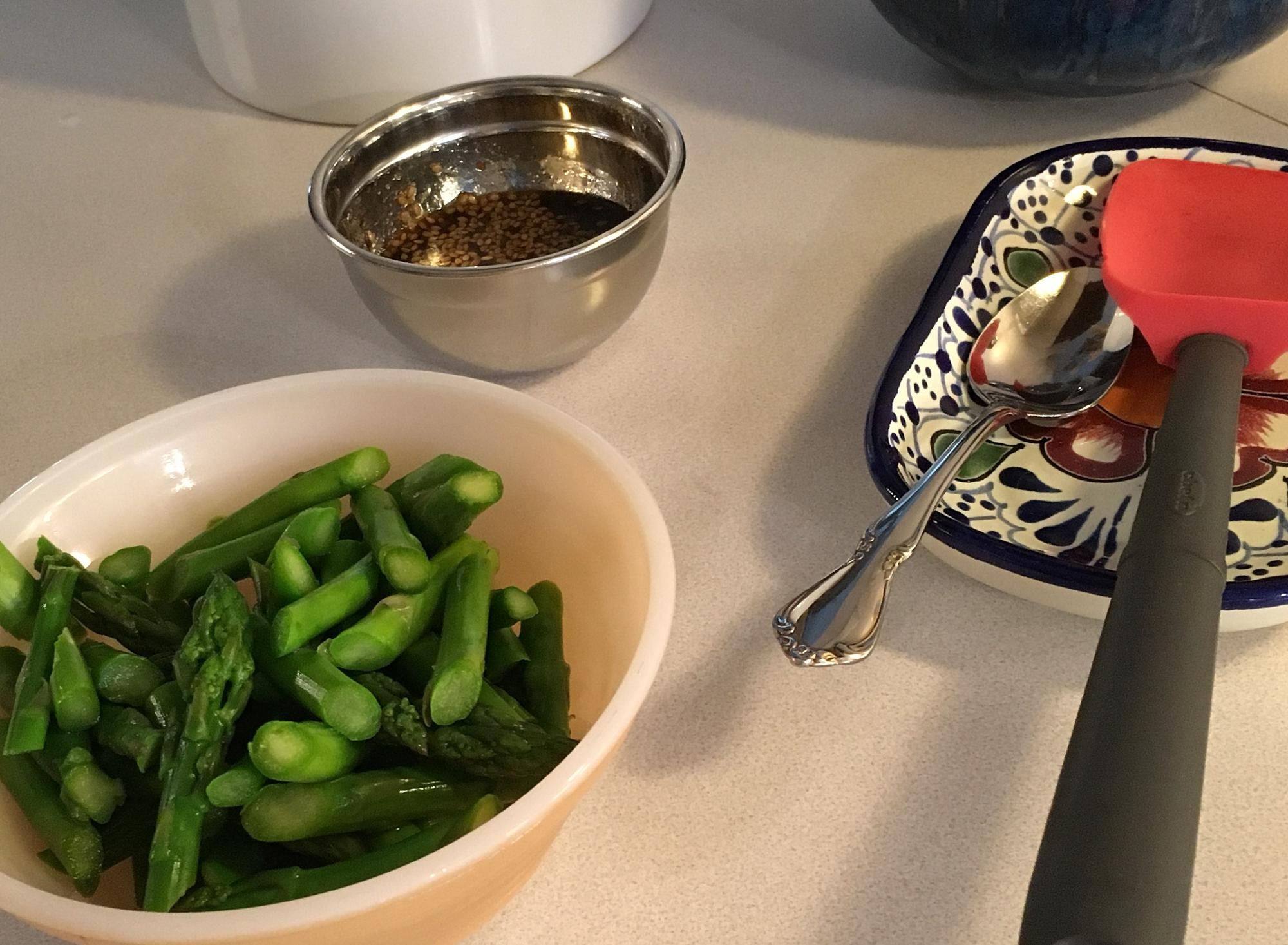 Post in eG Cook-Off #77: Asparagus, the Spear of Spring