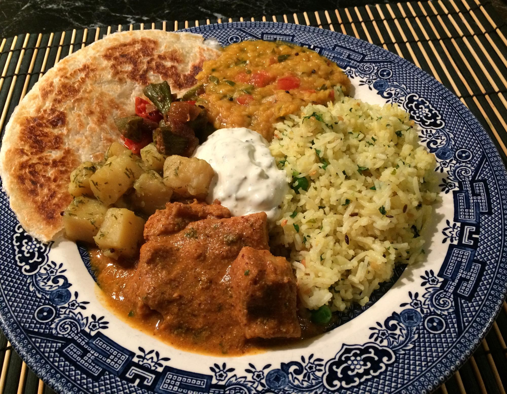Post in eG Cook-Off #80: The Aromatic, Exotic Flavors of Curry