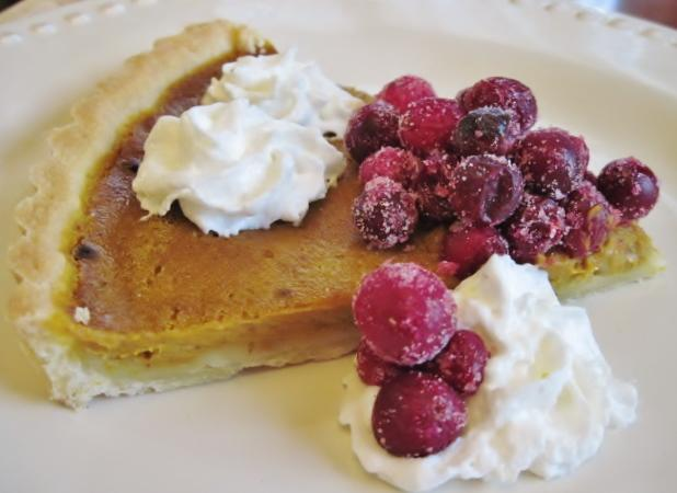 Pumpkin Tart with Candied Cranberries #2300.JPG