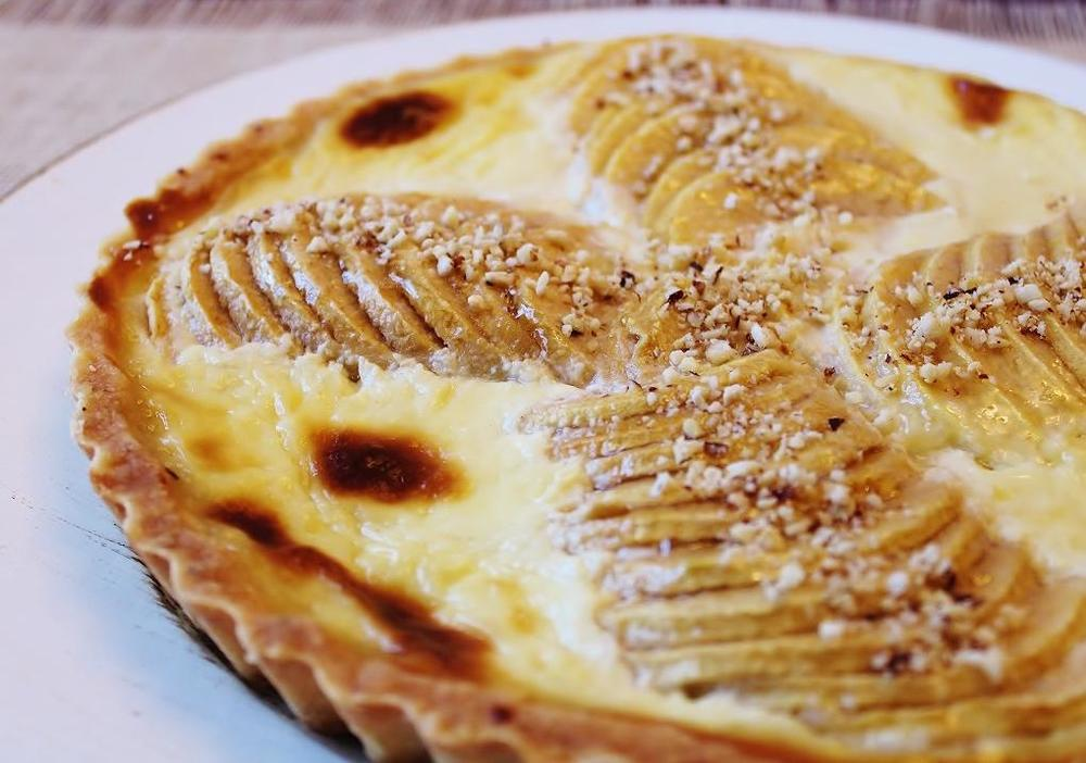 Apple Tart with Smoked Cheddar Custard.JPG