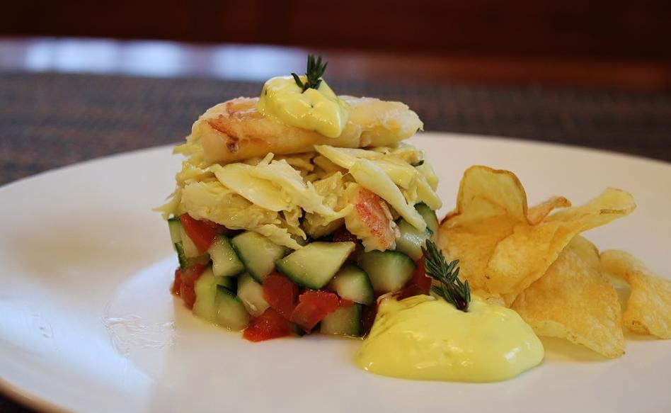 Dungeness Crab Salad with Lemon-Thyme Mayonnaise.JPG