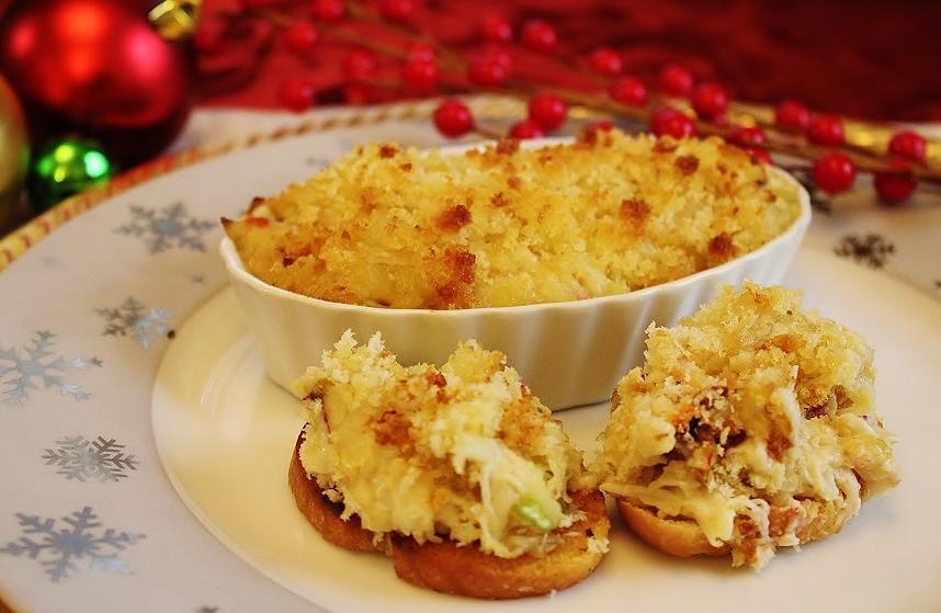 Dungeness Crab au Gratin.JPG