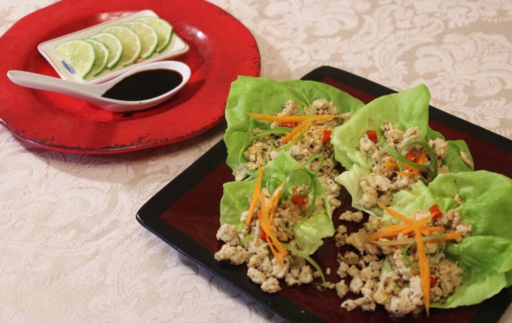 Thai Larb Lettuce Cups with Lime.JPG