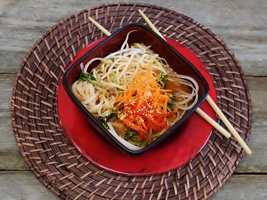 Spicy Vegetarian Bibimguksu Bowl.JPG