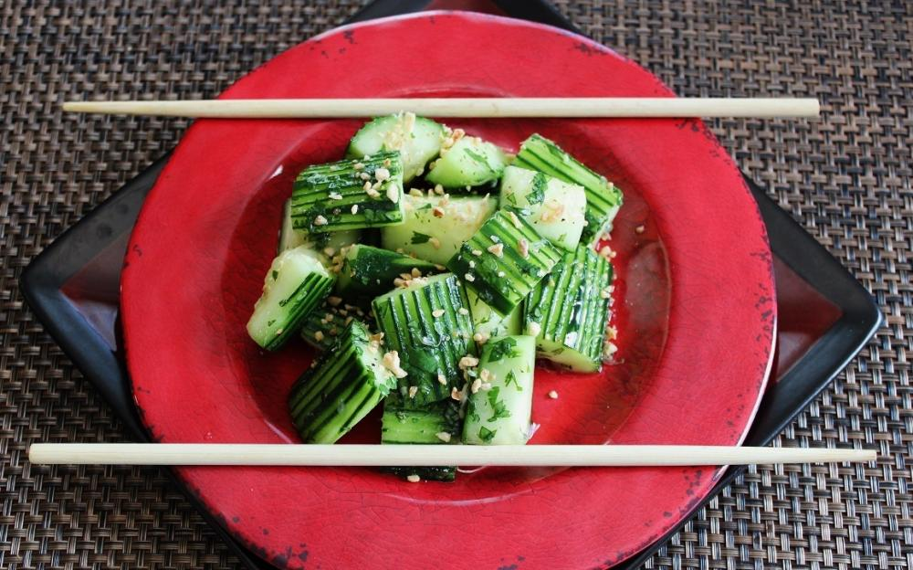 Sweet and Sour Pickled Cucumbers.JPG